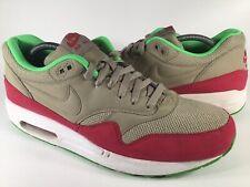 Nike Air Max 1 Essential SNEAKERS Bamboo Fuchsia Force
