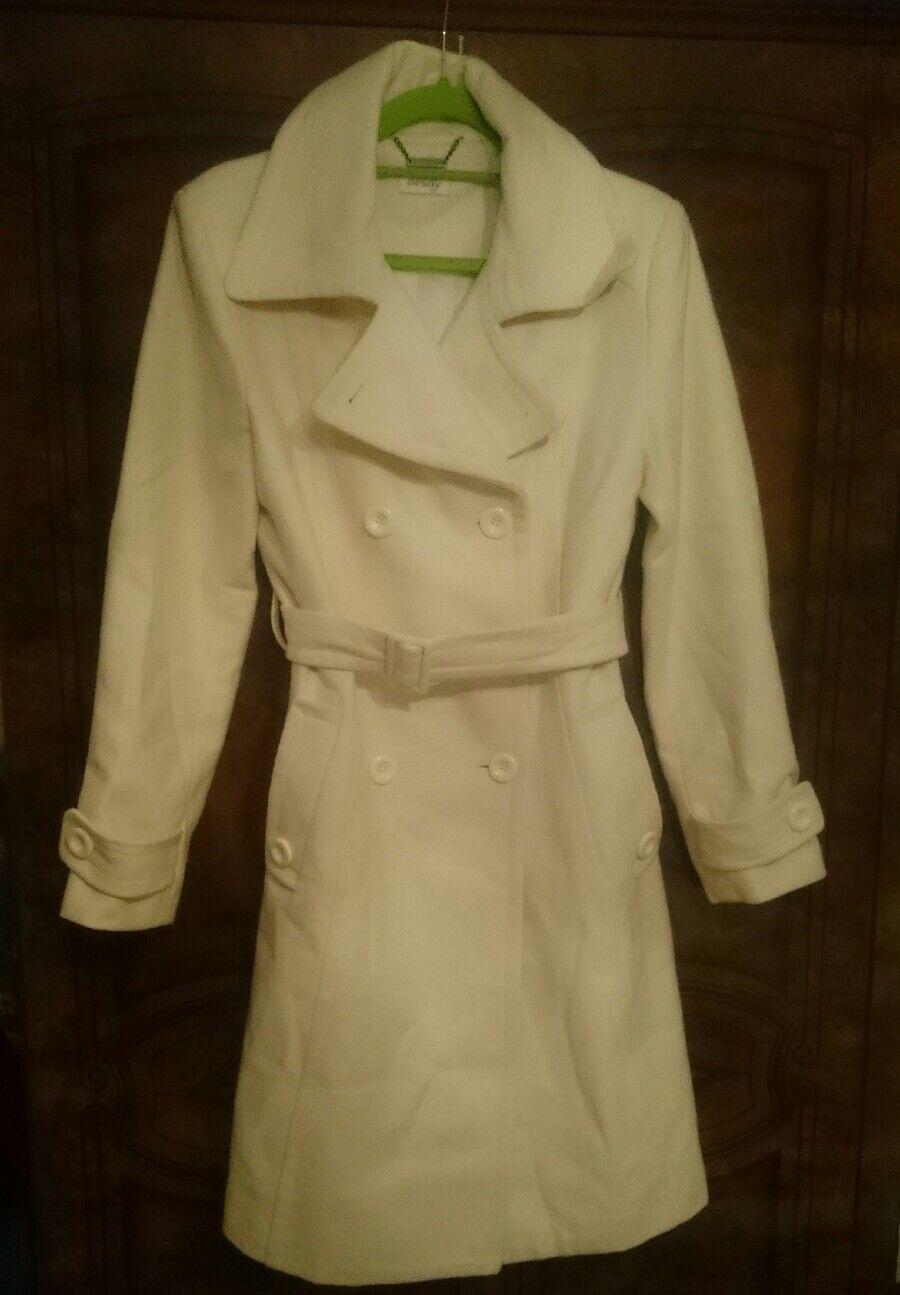 Weißer mantel,    Trenchcoat Gr M 40 Zustand neuwertig | Am praktischsten  | Stil  | Qualitativ Hochwertiges Produkt  774b5a