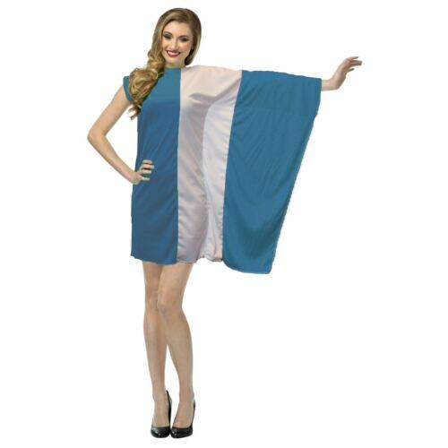 Mesdames Grèce Drapeau Fancy Dress grec patriotique Costume de sport supporter
