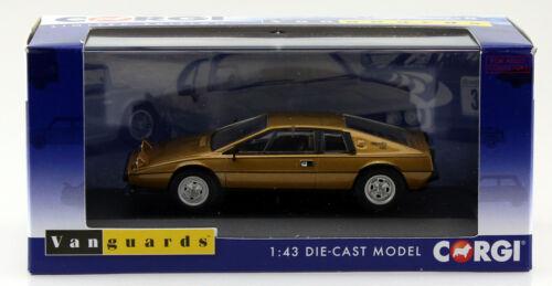 Lotus Esprit serie 2 ORO RHD 1:43 Vanguards modello di auto va14202