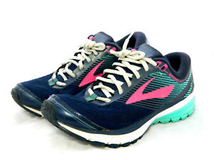 e8ca55729f2 Brooks Ghost 10 Women s Running Athletic Shoes Sneakers Size 8 B   M ...