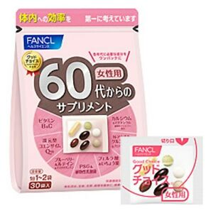 FANCL-Supplement-woman-from-the-60s-30-bags-health-beauty
