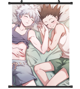Hunter x Hunter Gon Killua Anime two sided Pillow Cushion Case Cover 274