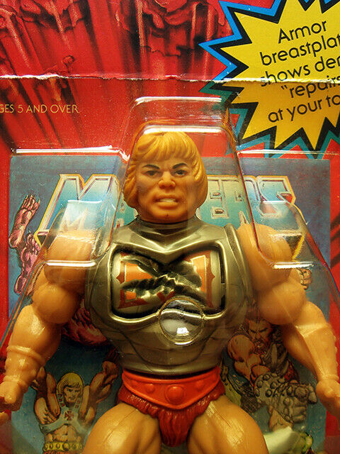 He -man MOTU BATTELARMOR HE -MAN oöppnade universums härskare
