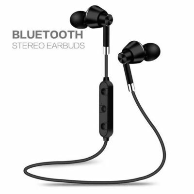 Wireless Bluetooth Sweatproof Headphones Sport Earphones Stereo Headset With Mic