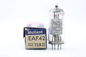 EAF42 TUBE. MULLARD BRAND. NOS/NIB. RC100.