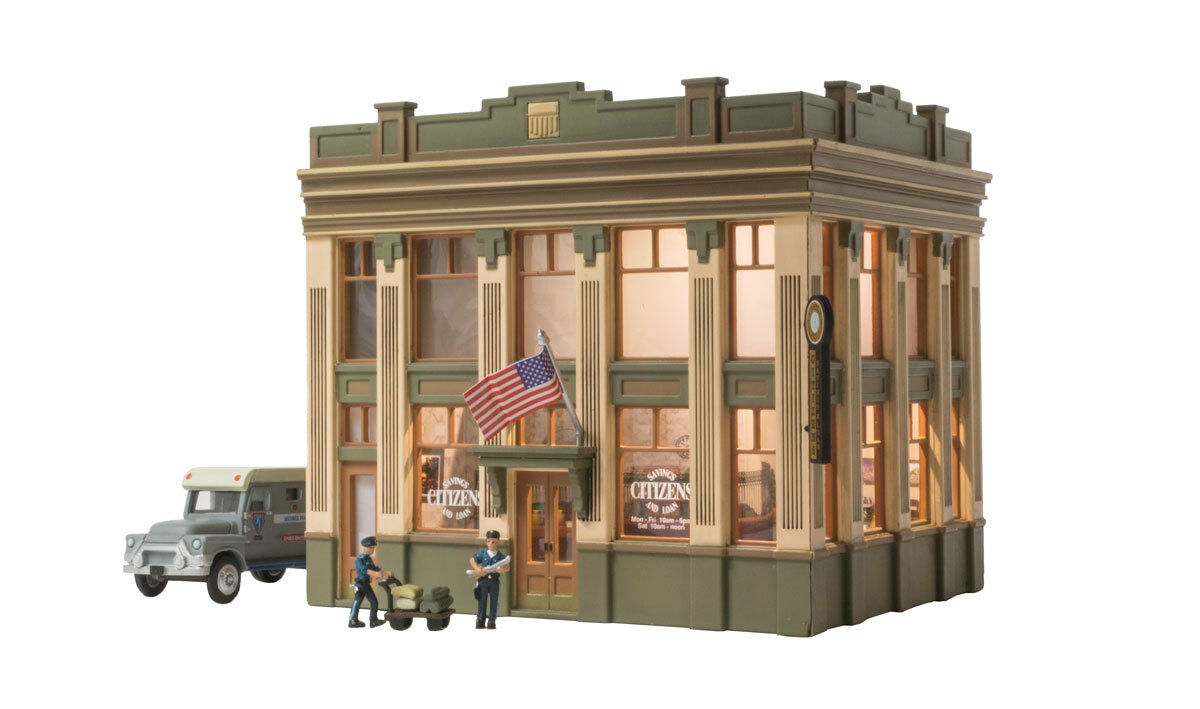 Woodland Scenics HO Citizens Savings and Loan BR5033