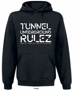 Tunnel-Hoodie-034-UNDERGROUND-RULEZ-034-One-Fits-All-Groesse-M
