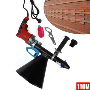 Mortar Grout Electric Gun Patio Brick Pointing Tile Grouting Cement Applicator