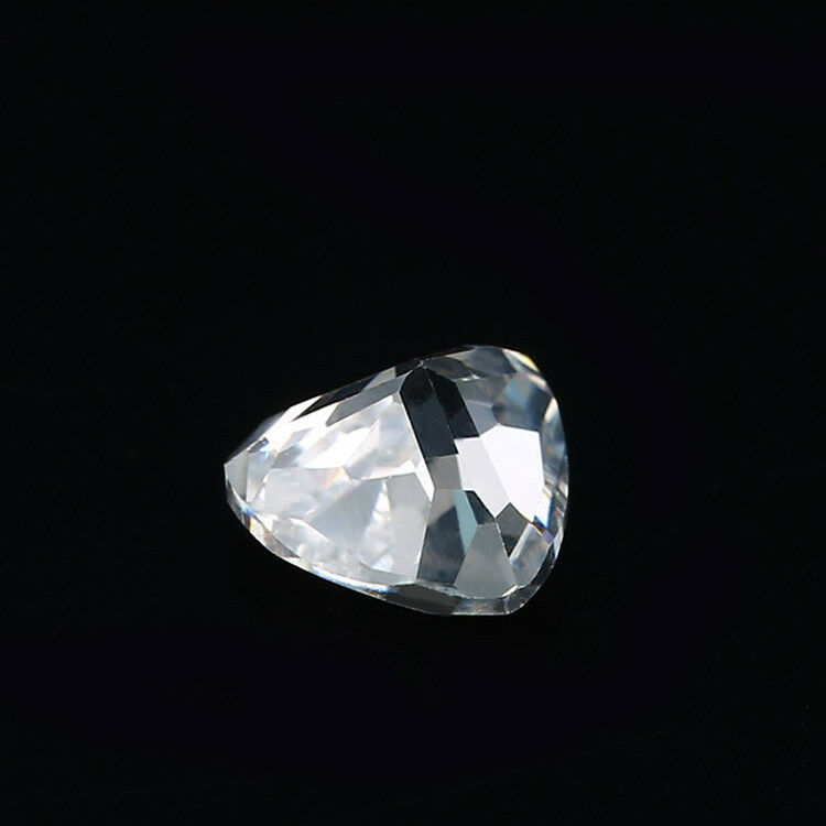 12X12MM TRILLION CUT UNHEATED 10.28Ct WHITE SAPPHIRE AAAA+ LOOSE GEMSTONE