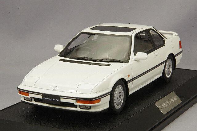 1 18 Hobby Japan  HJ1804BW Honda Prelude Si (BA 5) 1987 New Polar White