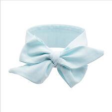 Girl Baby Toddler Bow Headband Hair Band Accessories Headwear Head Wrap #0-Blue