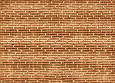 Crypton® Diva Cayenne Woven Square Polka Dot Salmon Cream Upholstery Fabric