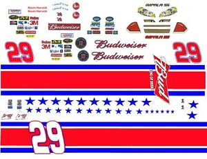 #21 Kevin Harvick Twizzlers Chevy 1//64th HO Scale Slot Car WATERSLIDE DECALS