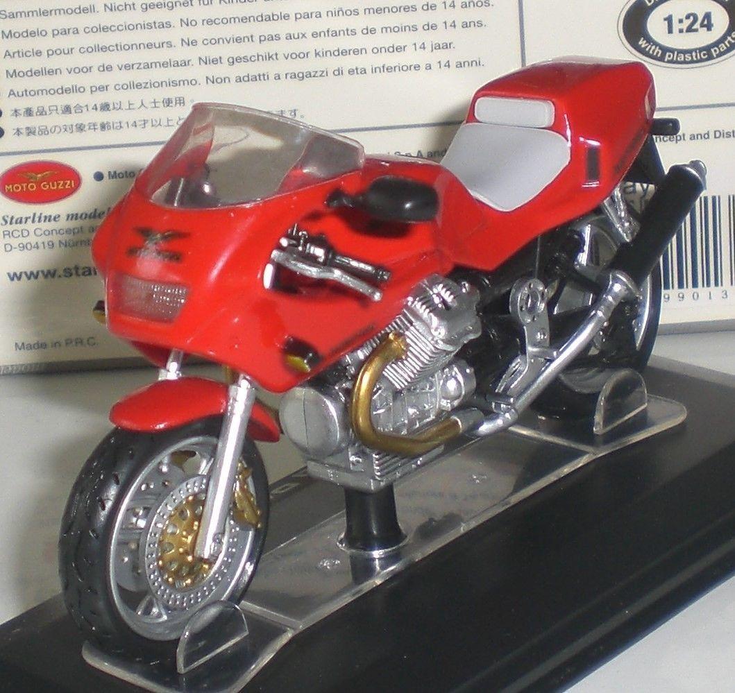 Moto Guzzi Daytona 1000 Rouge Starline 1:24 moto-modèle 99013