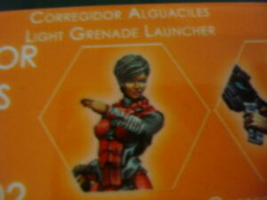Infinity-Corregidor-Alguaciles-Light-Grenade-Launcher-Nomads-metal-new