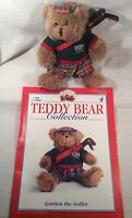 "Collectable The Teddy Bear Collection No.4 ""Gorgon The Golfer"" Magazine"