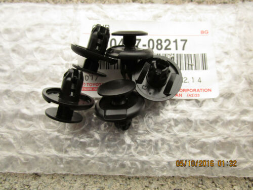 05-14 TOYOTA TACOMA SET OF 5 EXTERIOR RADIATOR COVER UPPER SEAL CLIP NEW