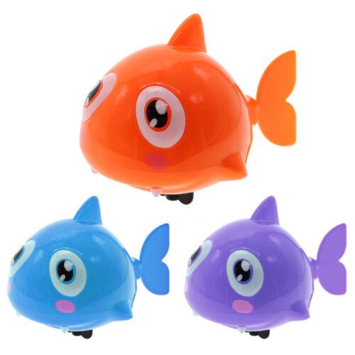 Cute Swimming Shark Wound-up Chain Clockwork Baby Kids Bathing Toy Bathroom Gift