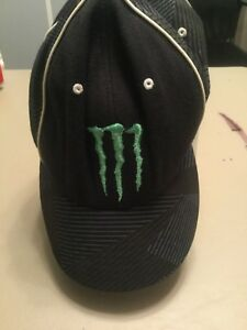 b2dbde1838 Image is loading One-Industries-Monster-Energy-Baseball-Cap-Flex-fit-