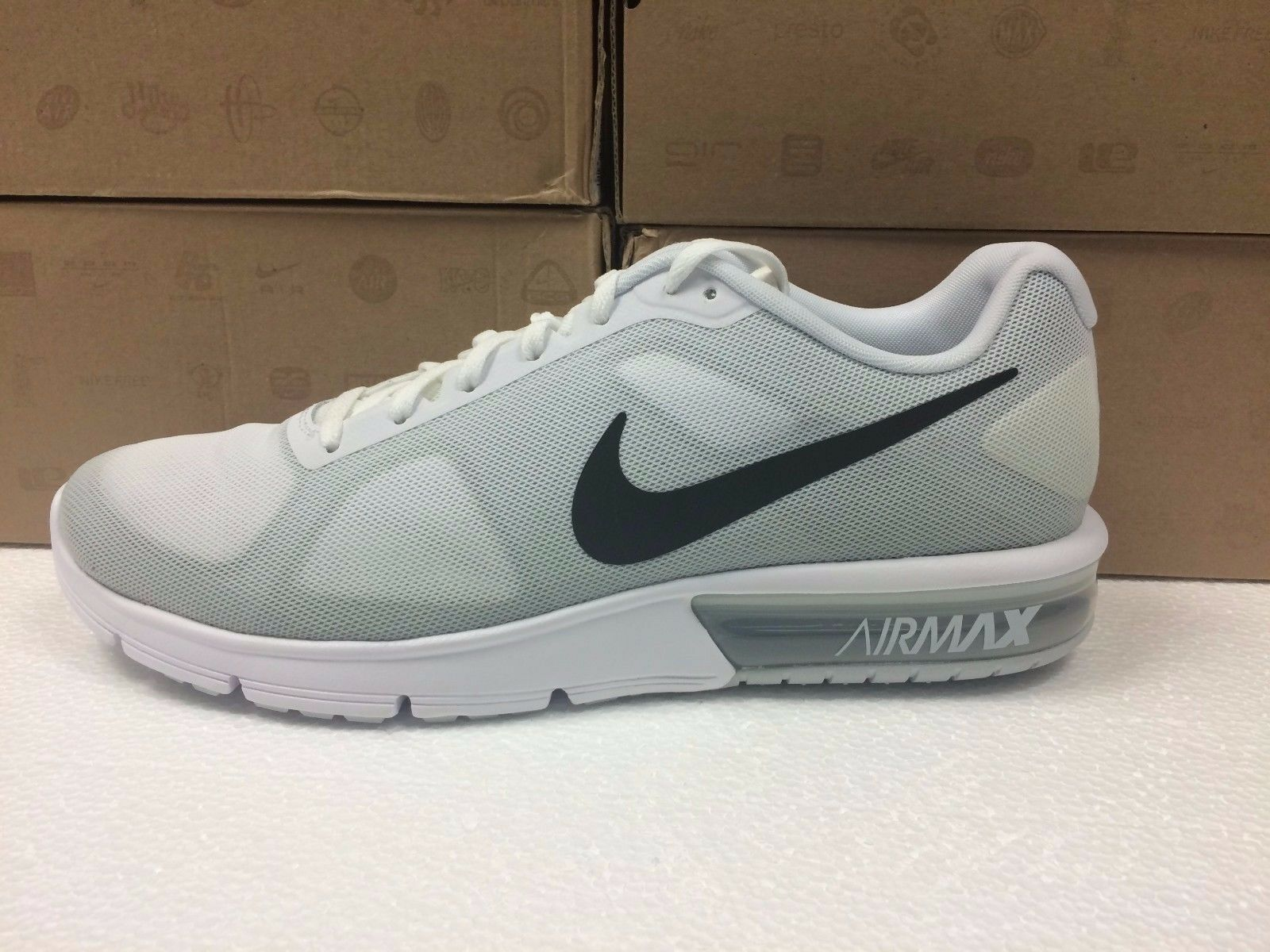 NEW MENS NIKE AIR MAX SEQUENT 719912 100 SNEAKERS-SHOES-SIZE 11.5