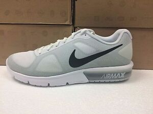 New Hombres Nike Air Max Sequent Size 719912 100 Zapatillas Zapatos Size Sequent Ebay 1e4b22