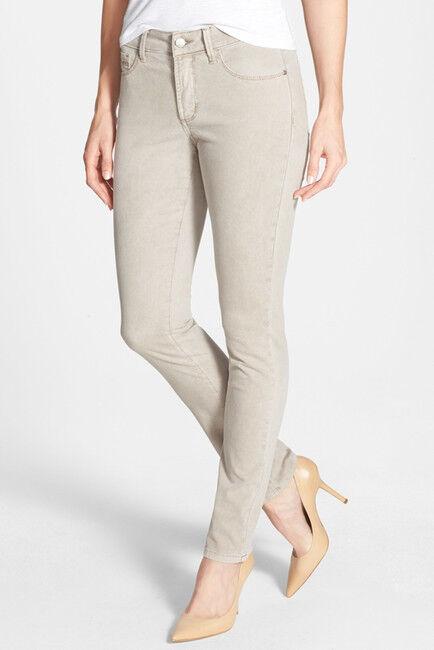 NYDJ NYDJ 'Alina' colord Stretch Skinny Jeans, macadamia, size 16, retail  110