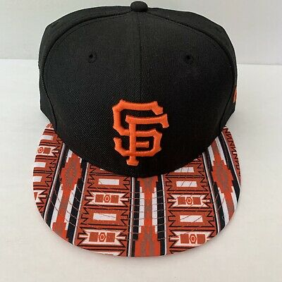 NEW ERA SF San Francisco Giants 9FIFTY Snapback Hat Cap MLB Baseball Embroidery