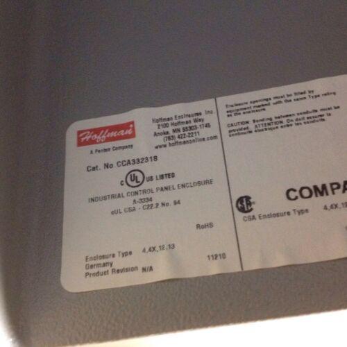 """Hoffman CCA332318 Aluminum Enclosure 9/"""" X 13/"""" X 7/"""""""