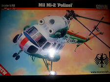 "Mil Mi-2 ""Polizei"" Elicottero - Mister Craft Hobby Kits 1:72 - MCD153 Nuovo"