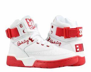 537bd9b6be17 Ewing Athletics Ewing 33 Hi White/Red Men's Basketball Shoes ...