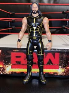 MATTEL-WWE-SETH-ROLLINS-TOUGH-TALKER-RARE-WRESTLING-FIGURE