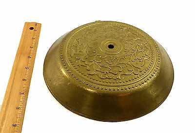 Floor Base Lamp Part Very Heavy Real Raw Cast Solid Brass Custom Made