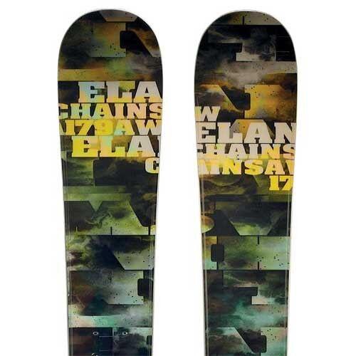Elan 2013 Chainsaw Skis (No Bindings   Flat) NEW    187cm