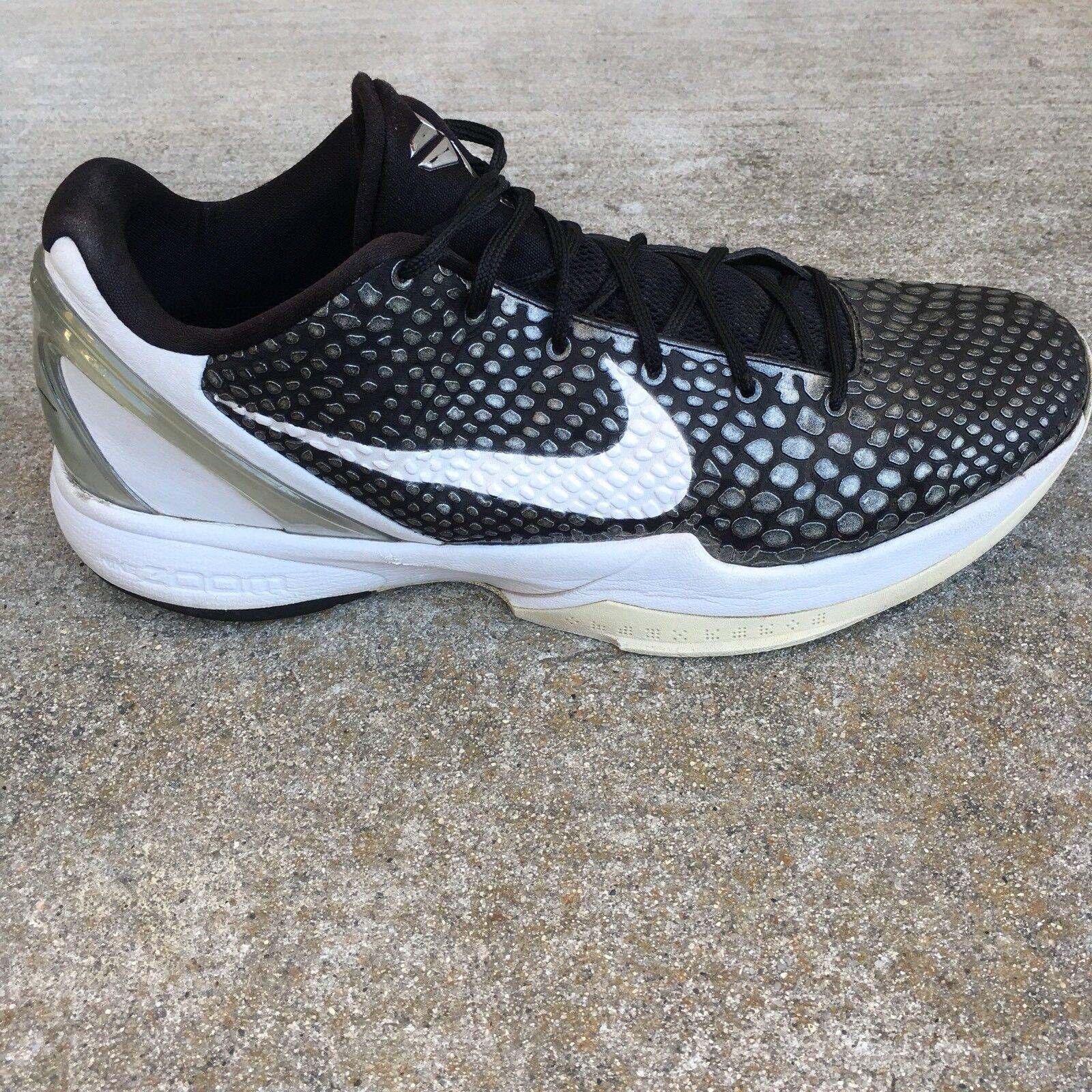 Nike zoom kobe männer sz 13 graue grau - weißen metallischen graue 13 schlange haut schuh 454142-011 01e5e7
