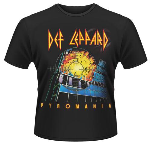 Def Leppard /'Pyromania Album/' ?T-Shirt NEW /& OFFICIAL!