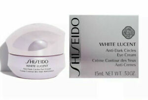 Shiseido White Lucent Anti-Dark Circles Eye Cream for Unisex, 0.53 oz - New