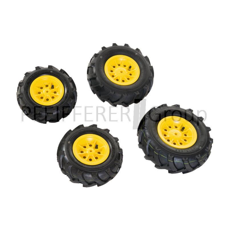 Rolly Toys rollyAccessoires Luftbereifung gelb 260x95   325x110