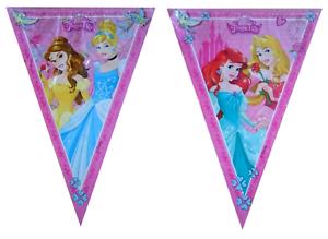 Disney-Princess-Flag-Banner-Bunting-Children-039-s-Birthday-Party-Decoration-Girls