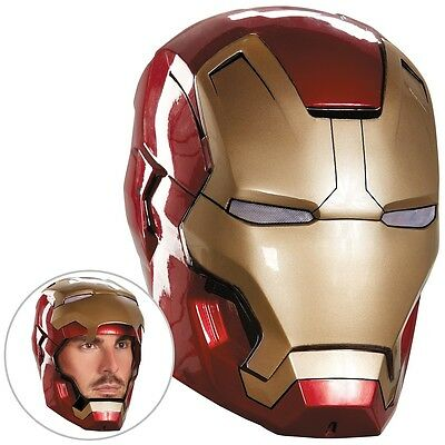 Iron Man 3 Mark 42 Helmet Adult Superhero Movie Halloween Fancy Dress Costume