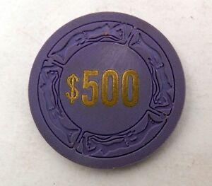500-Sundance-West-Casino-Gaming-Poker-Chip-Las-Vegas-Nevada-1976-1980