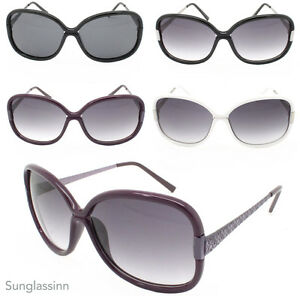 Trendy Large OVERSIZED Women's Butterfly Fashion Sunglasses Retro 80's