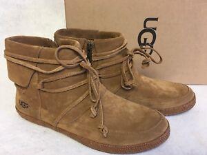 8d93a187e408 UGG Australia Reid Chestnut Ankle Boot Womens sizes 1019129 Suede .