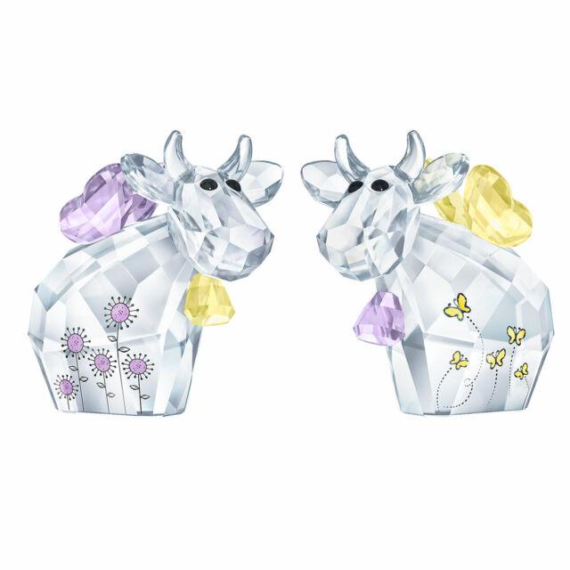 Swarovski Pair of Crystal Figurines FAIRY MOS, Limited 2019 -5427997 New