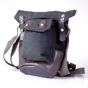 9975a15237 Image is loading Vintage-Scandinavian-Retro-WWII-Era-Shoulder-Bag-Canvas-