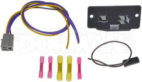 Blower Motor Connector Kit For 1980-1986 Ford F-250; HVAC Blower Motor Resistor
