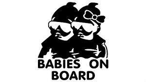 Buy 3 Get 5 Baby STIG On Board Car Vinyl Decal Sticker Buy 2 Get 3 Buy 5=10