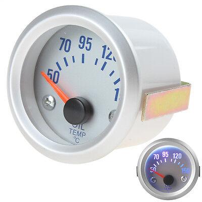 2Inch 52mm 50-150 Celsius Degrees Auto Car Oil Temperature Meter Gauge Sensor