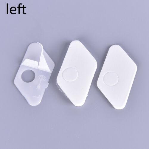 Pfeilauflage Kunststoff Recurve Bogen rechts und links schwarz und weiß Far0U