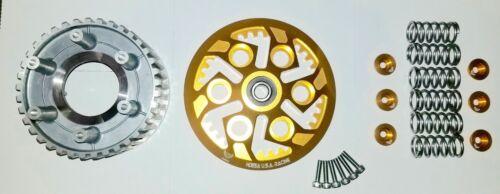 DUCATI Clutch PRESSURE PLATE INNER HUB SET 6 SPEED GOLD ANODIZED